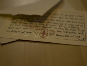 Letter from Caleb by Kylesteed