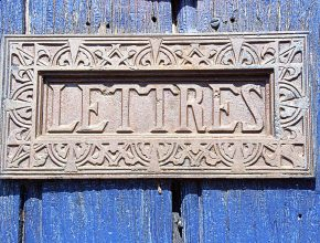 Lettres by Christine Vaufrey