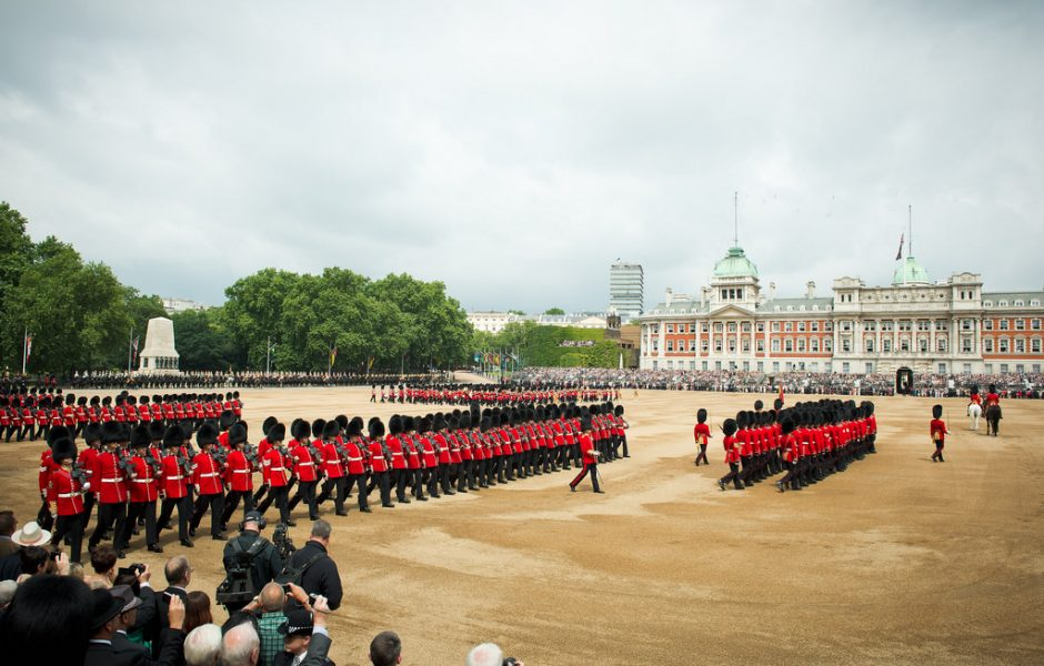 Trooping of the Colours by Number 10.