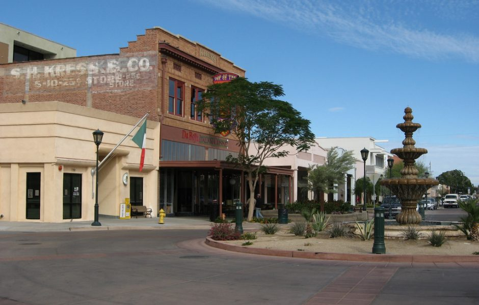 Downtown Yuma, Arizona by Ken Lund.