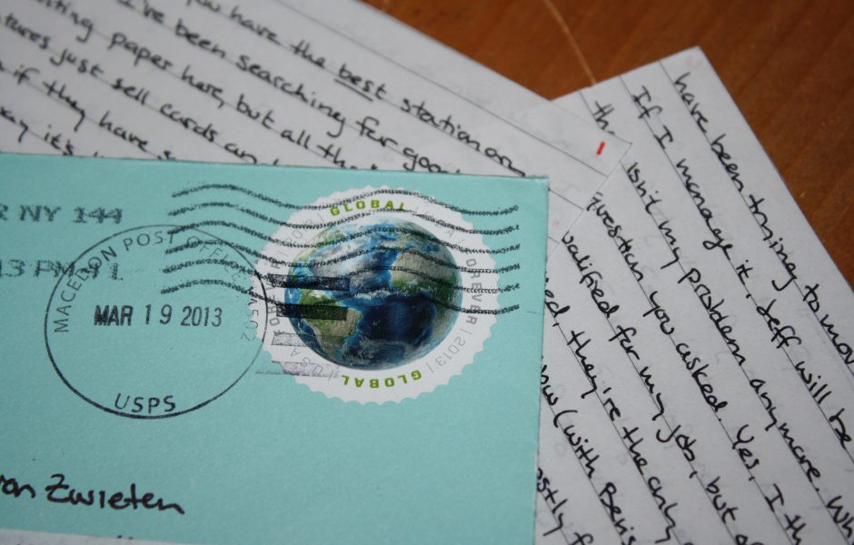 Letter by Sabrina.