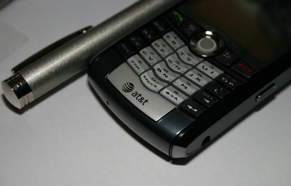 Cell Phone and Pen by ECohen.