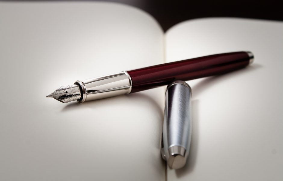 Pen is mightier than the sword by Dinuraj K.