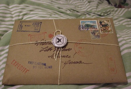 Package from the Letter Writer's Alliance