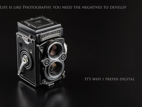 Life is like photography by Chris Chabot