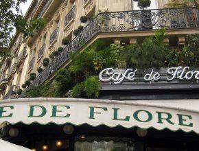 Paris - St-Germain-des-Prés: Café de Flore by Wally Gobetz