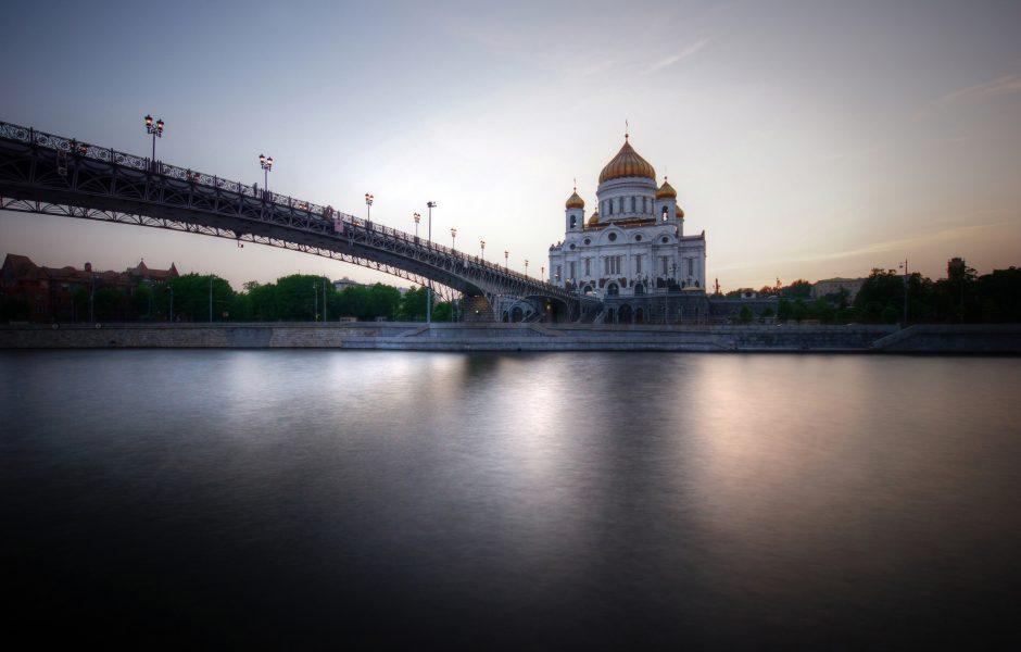 Evening in Moscow by Mariusz Kluzniak