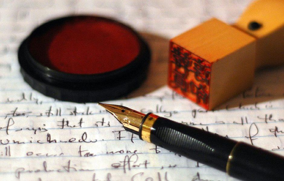 Letterwriting by Gene Han