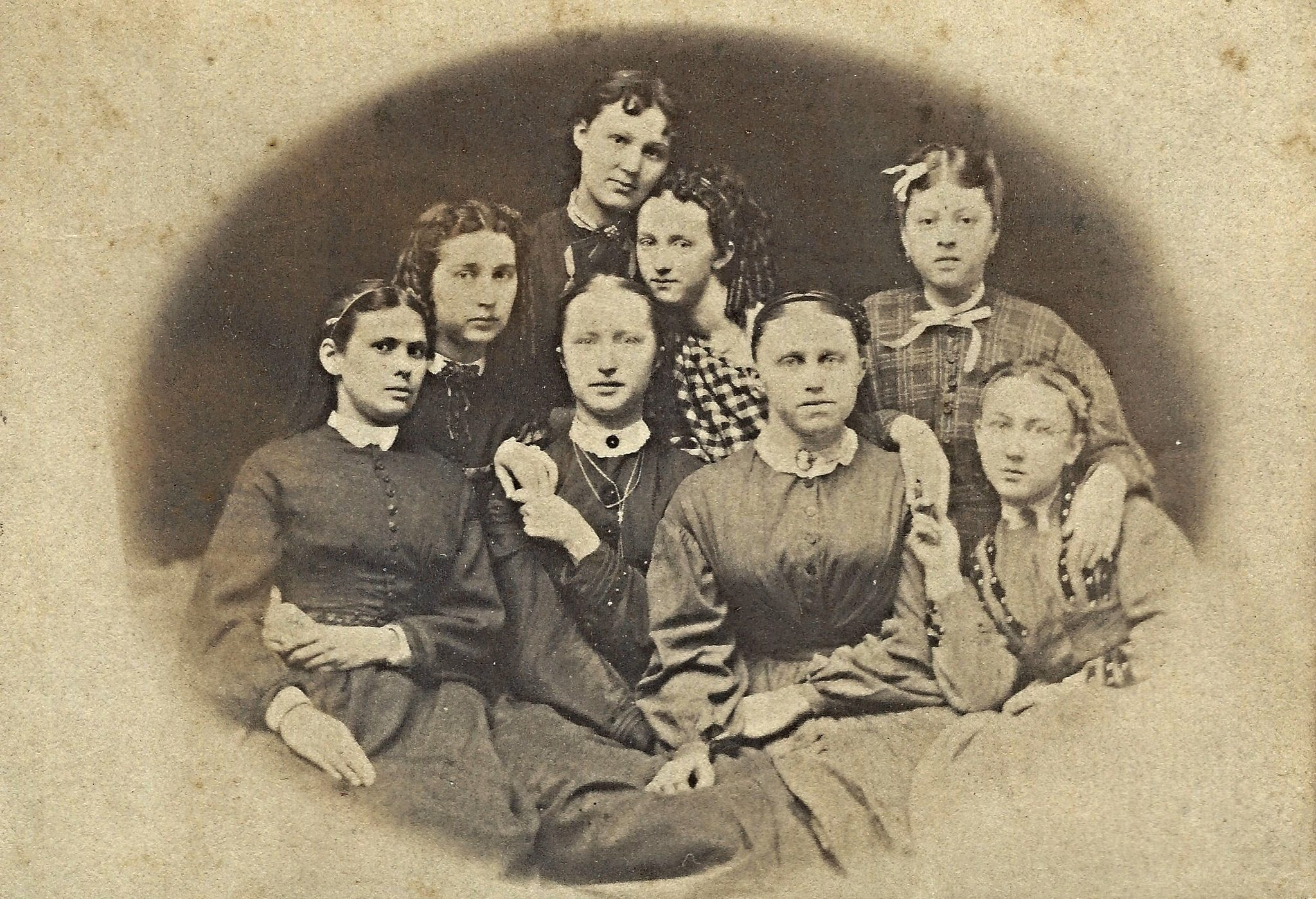 Eight Young Ladies by Ken