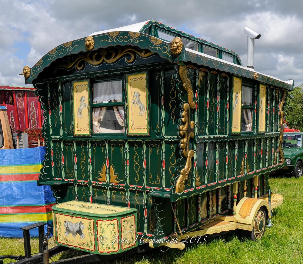 Caravan by John Hitchmough.