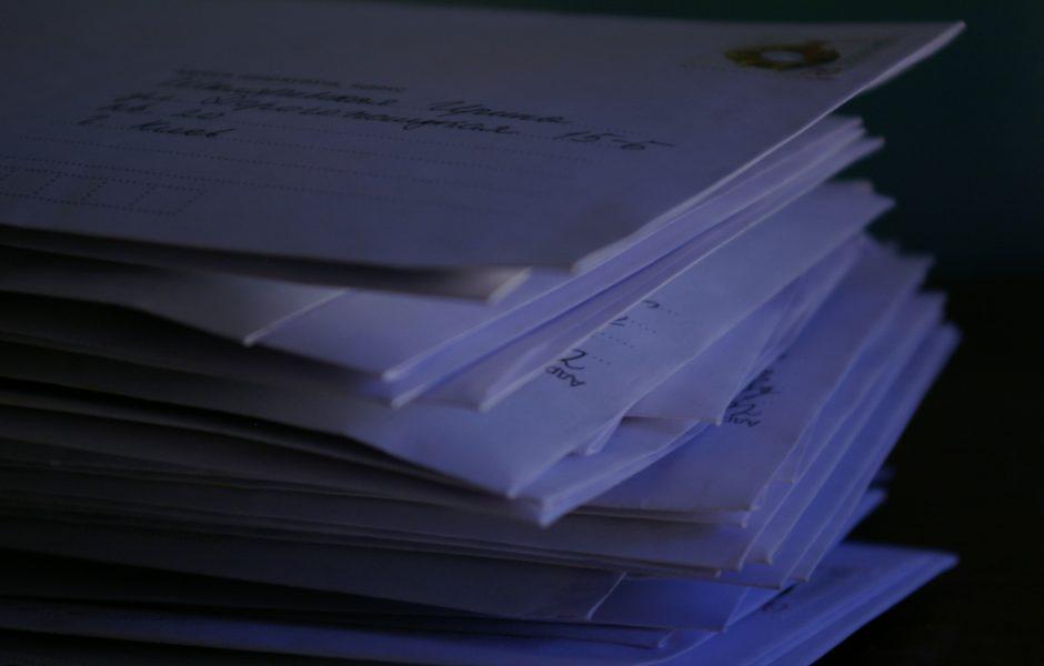 Letters by Mariya Chorna.