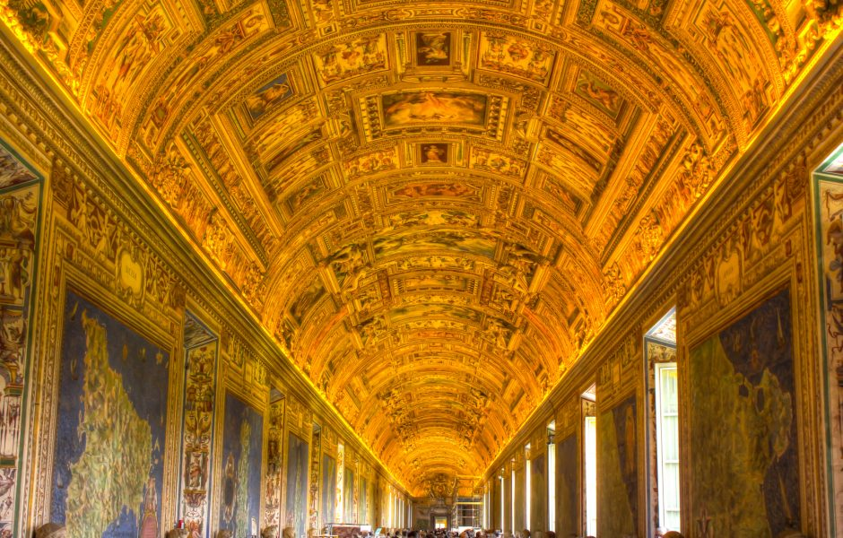 Pathway to the Sistine Chapel by Bob Familiar.