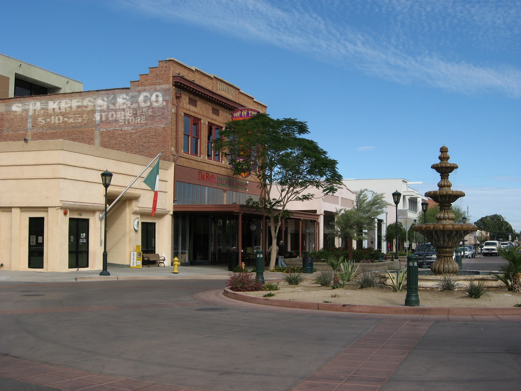 Downtown Yuma, Arizona by Ken Lund.