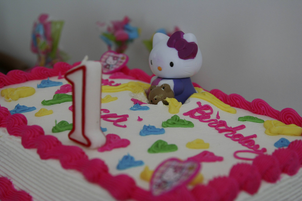 Hello Kitty Birthday Cake by Via Tsuji.