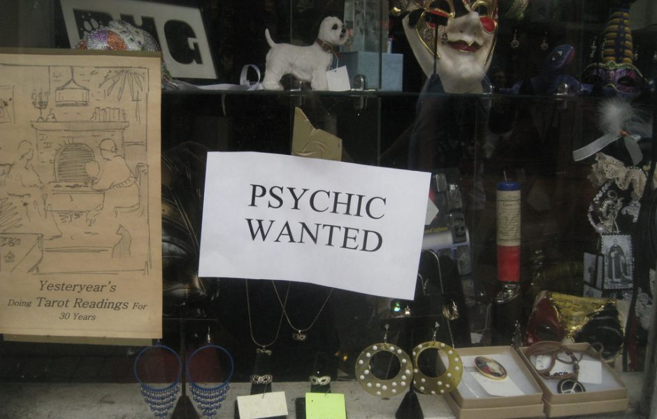 Psychic Wanted by Shawn Rossi.