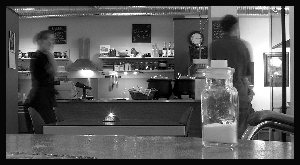 Cafe by Mia Holte.