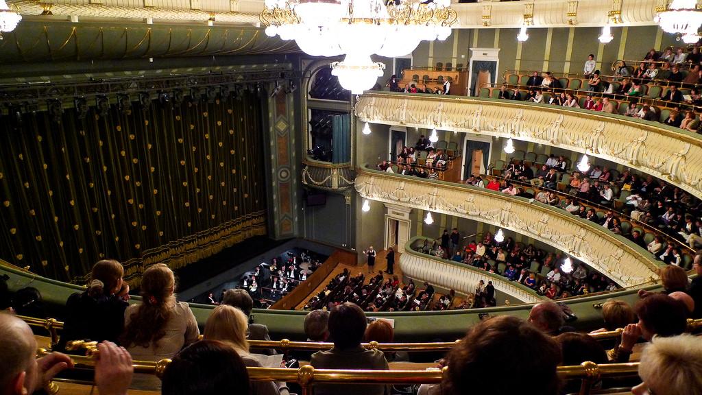Bolshoi Ballet by David Gee.