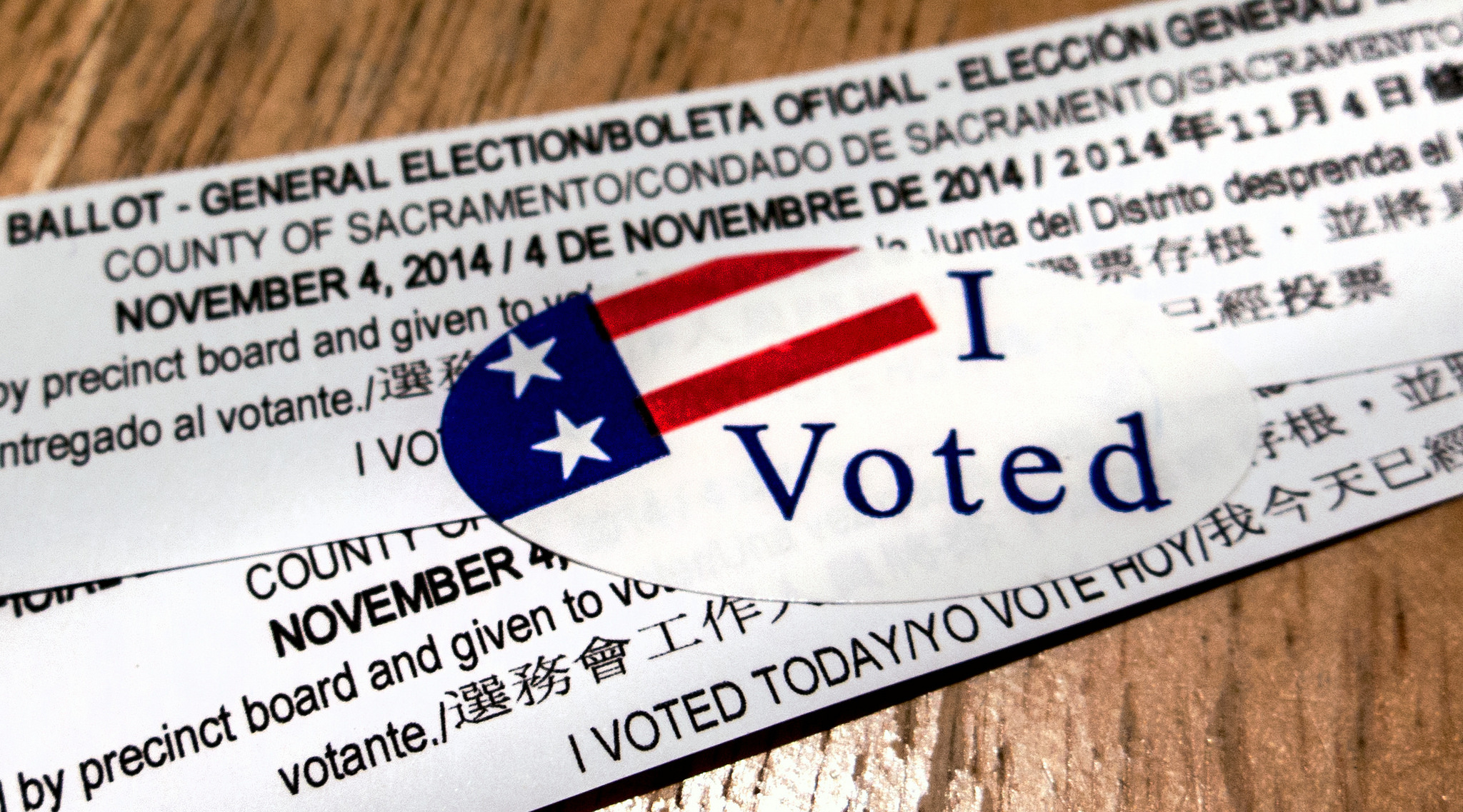 I Voted Today by Robert Couse-Baker.