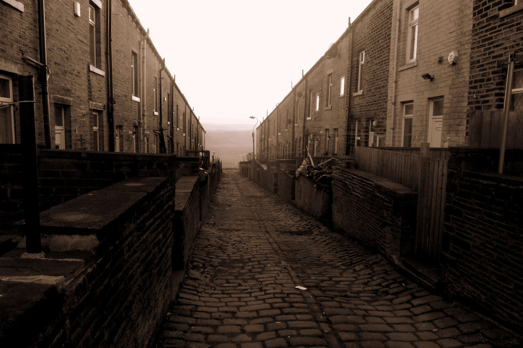 Terraced Street by David Sykes.
