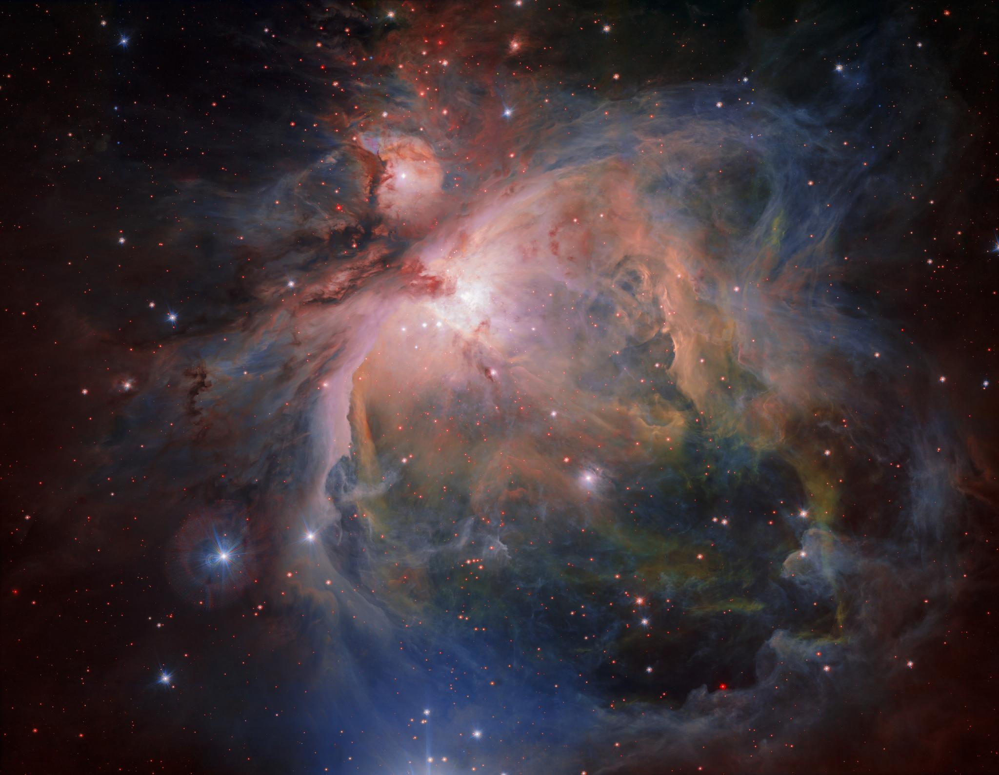 Orion Nebula by ESO.