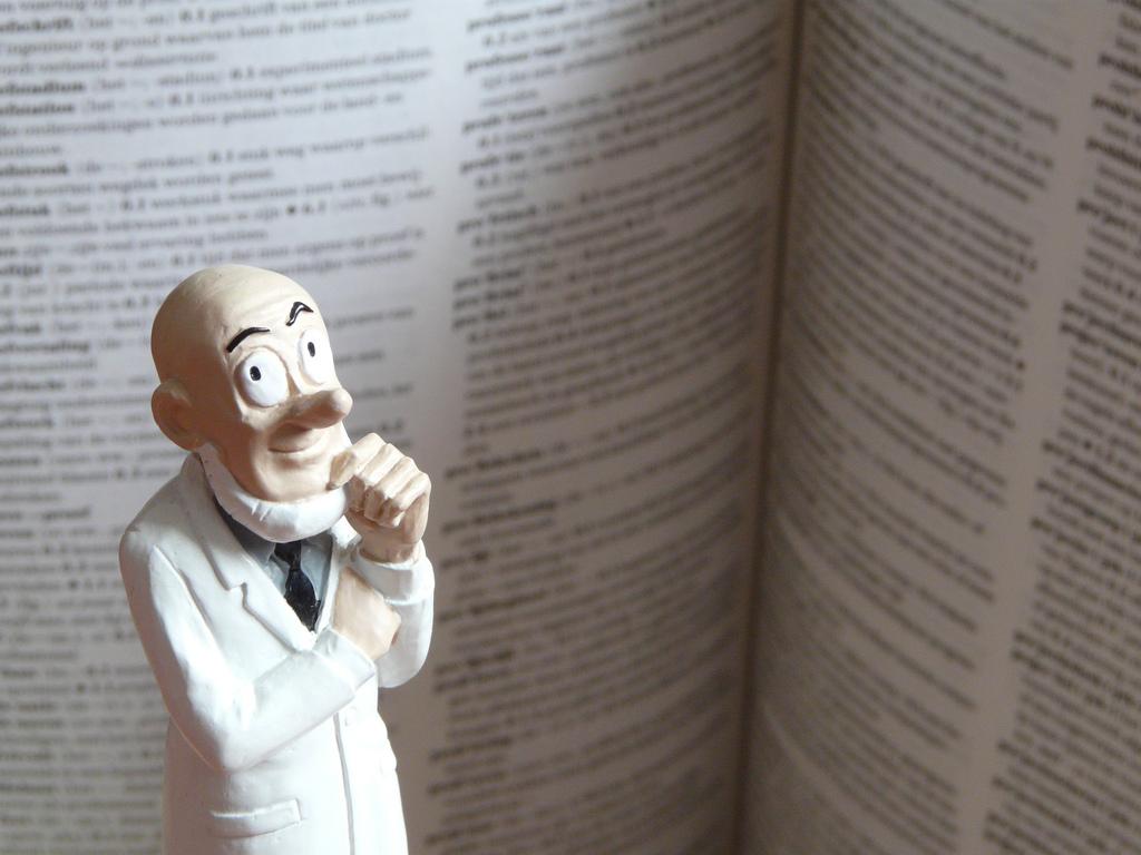 Professor by Judy van der Velden.
