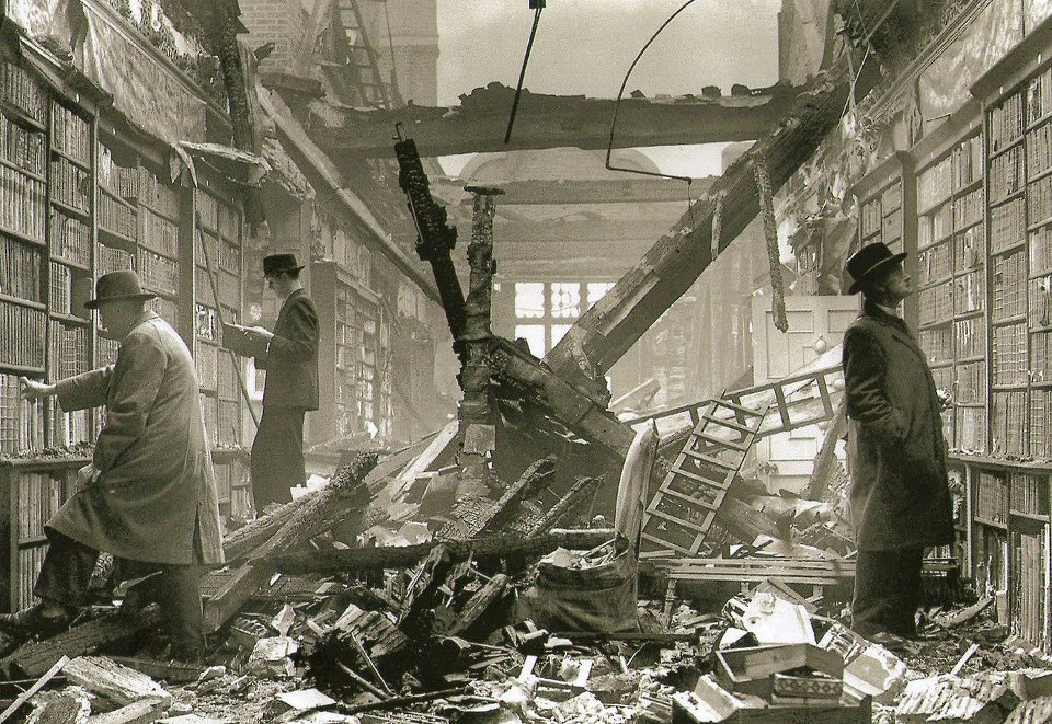 Holland House Library 1940.