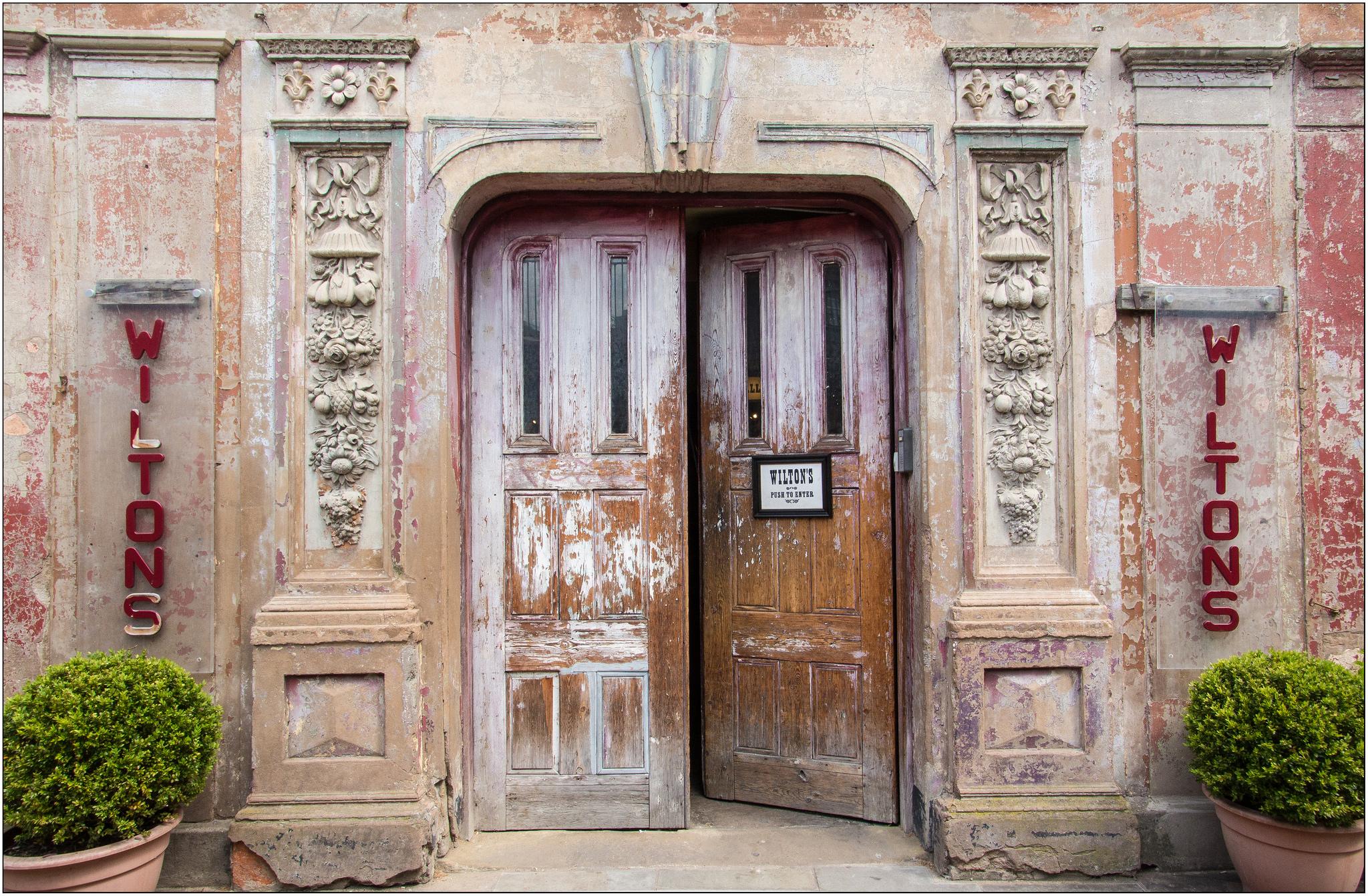 Open Door by Maureen Barlin.